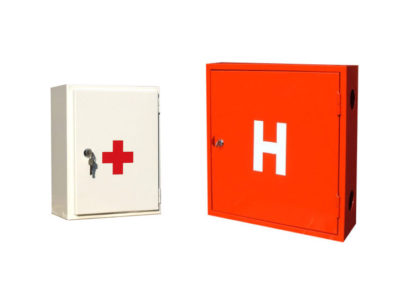 Hydrant and first aid kit cabinet